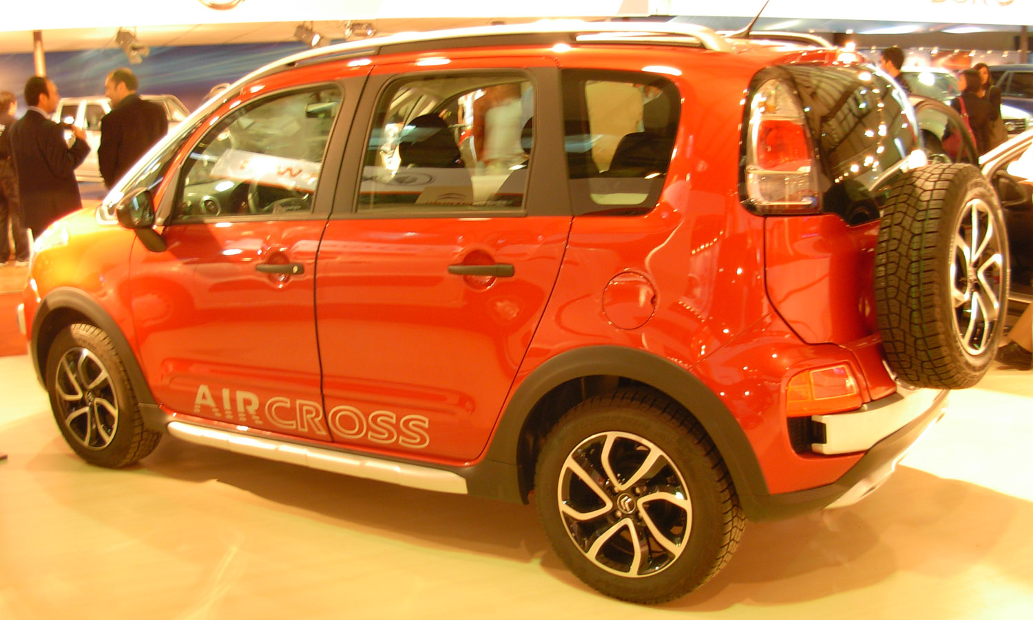file citro n c3 aircross rear 2012 montevideo motor wikimedia commons. Black Bedroom Furniture Sets. Home Design Ideas