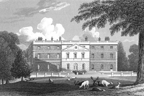 Clandon House 1824 engraving