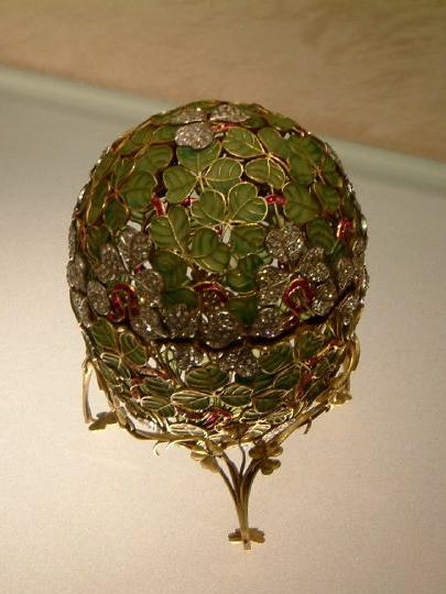 Clover Bud Faberge Egg