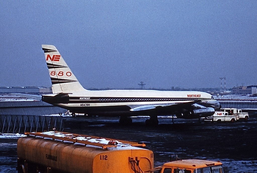 file convair cv-880  northeast airlines jp7772406 jpg