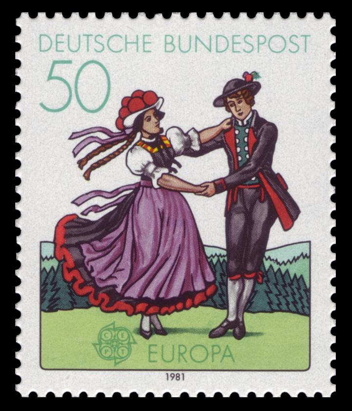 file dbp 1981 1096 europa folklore. Black Bedroom Furniture Sets. Home Design Ideas