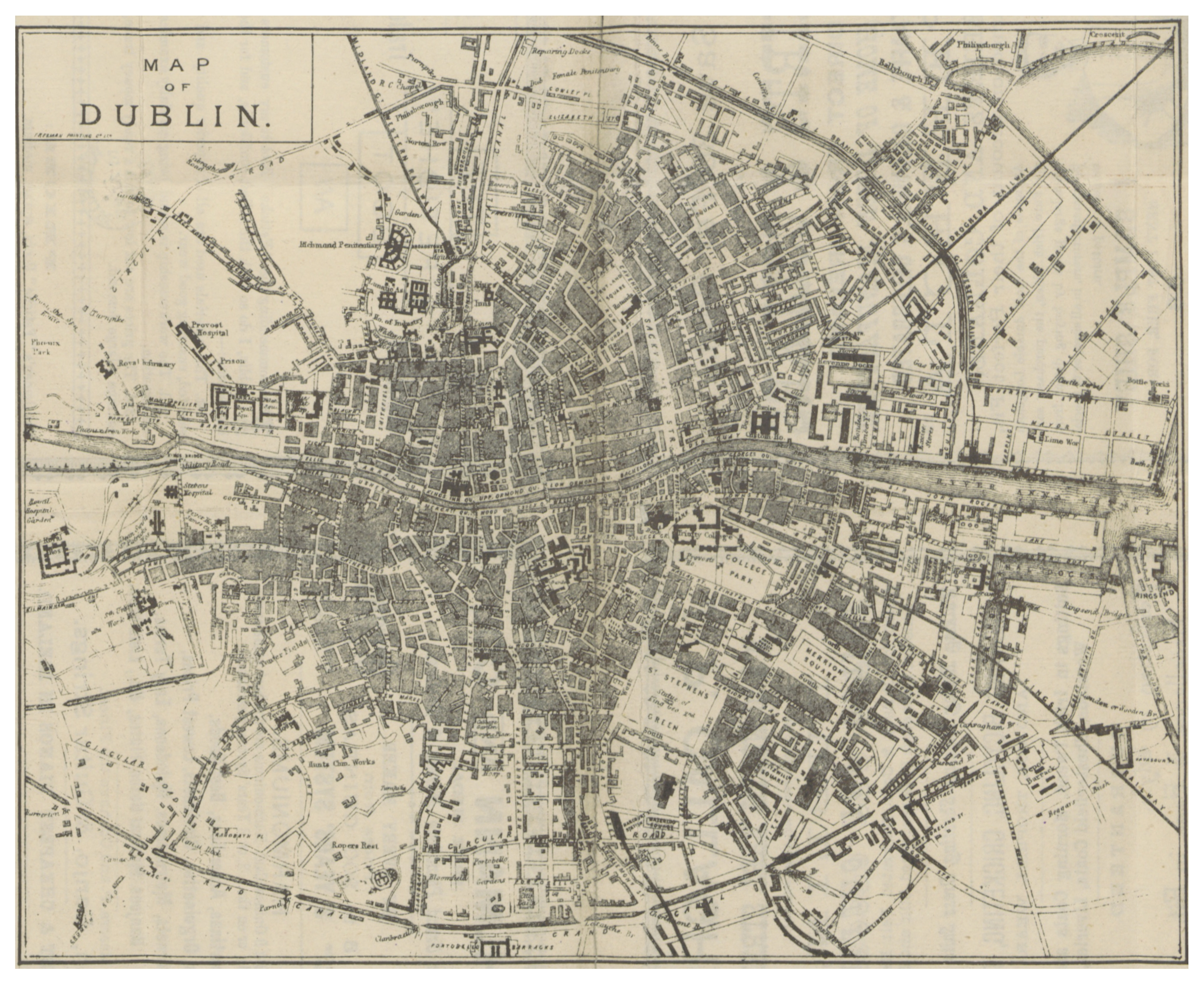 FileDINGNAM P MAP OF DUBLINjpg Wikimedia Commons - Old maps of dublin