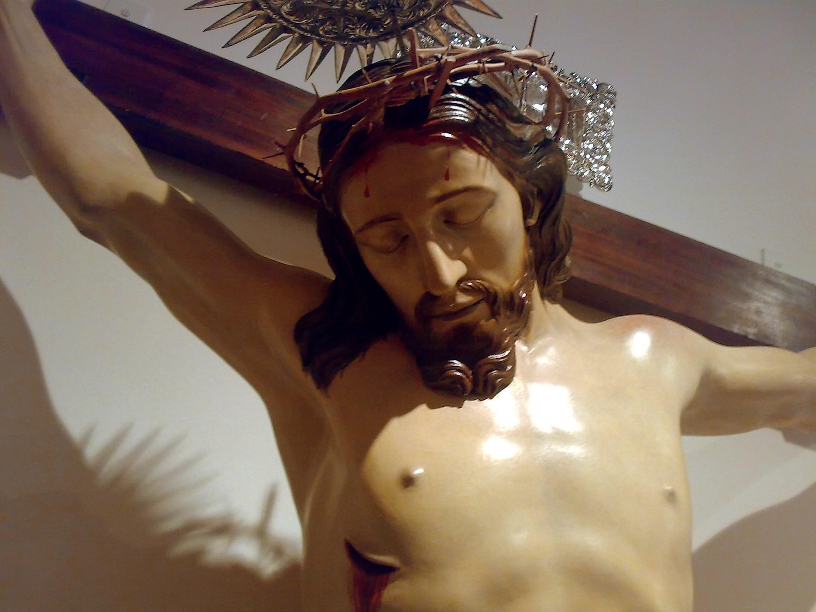 Depiction of Cristo crucificado