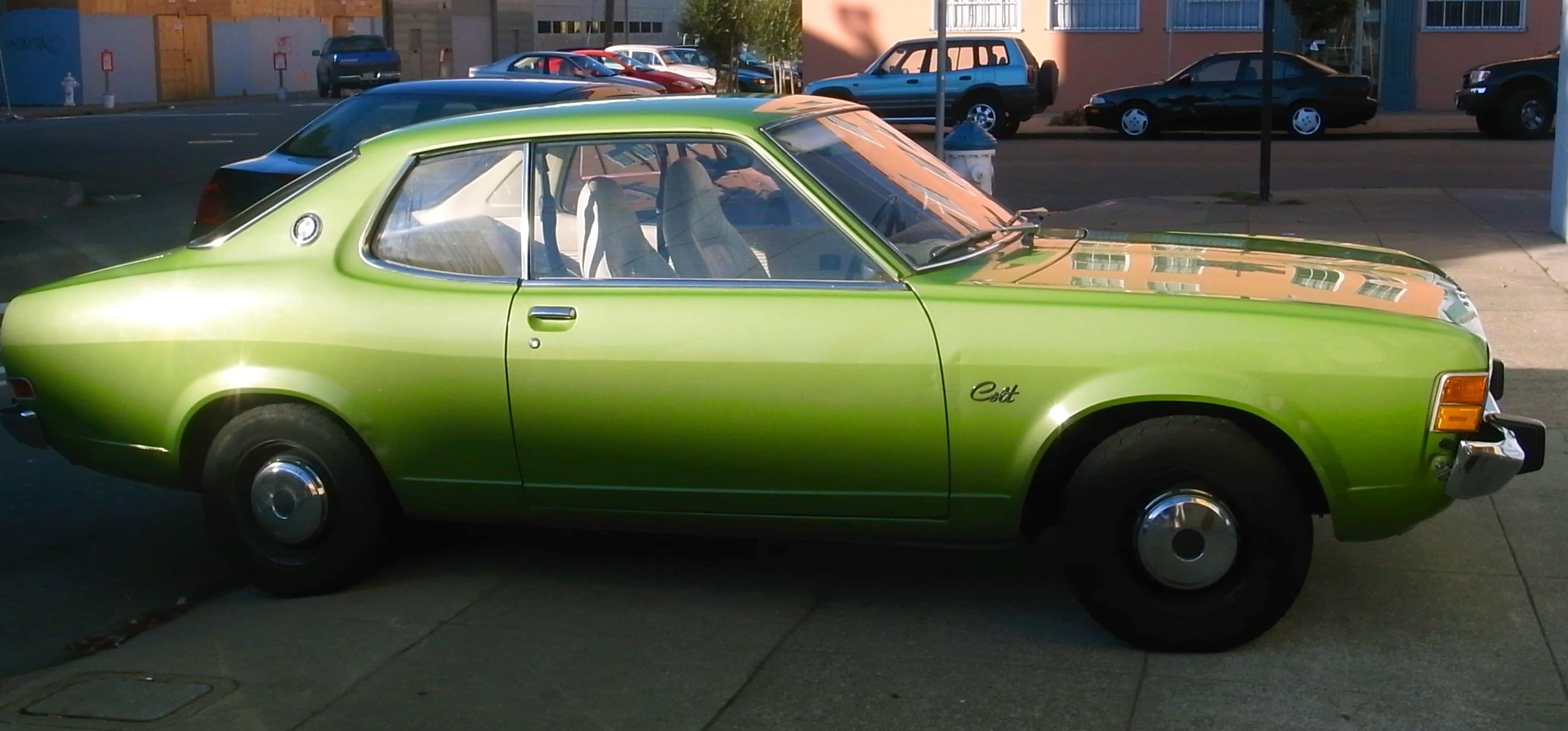 1974 Dodge Colt Interior
