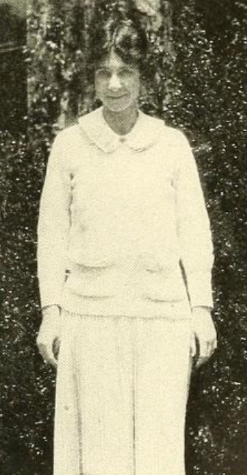 Dorothy Meserve, from the 1923 Bryn Mawr yearbook