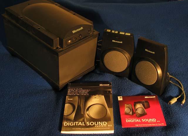 digital sound system 80