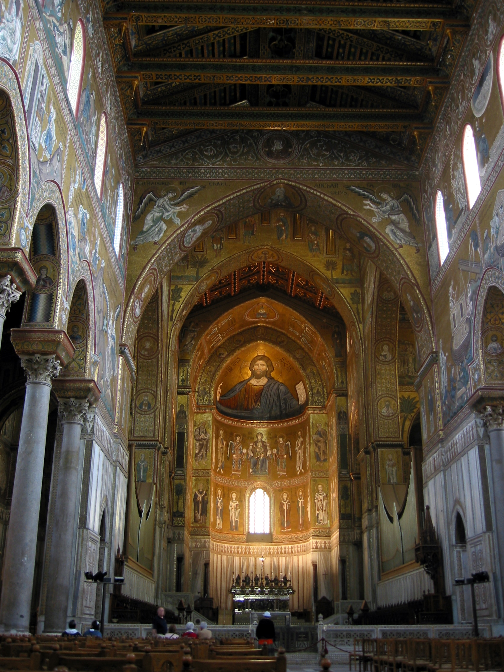 Monreale Italy  city photos : Duomo, Monreale, Sicily, Italy Wikimedia Commons