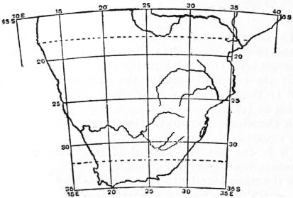 EB1911 - Map Projections- Fig. 16.—South Africa on a conical projection with rectified meridians and two standard parallels.jpg