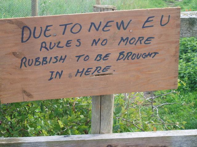 File:EU regulations - geograph.org.uk - 1523984.jpg