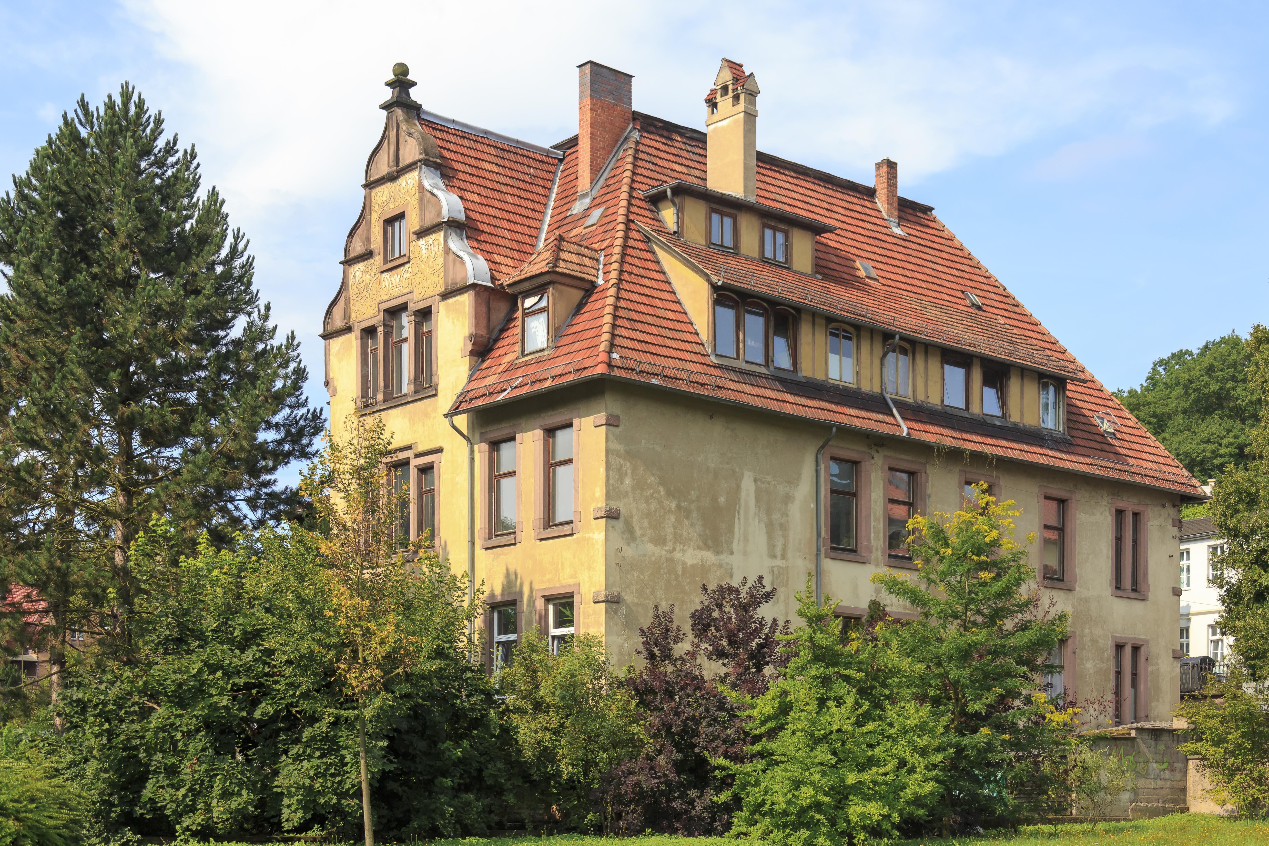 File Eisenach Germany Villa Herr Marienstra E 59