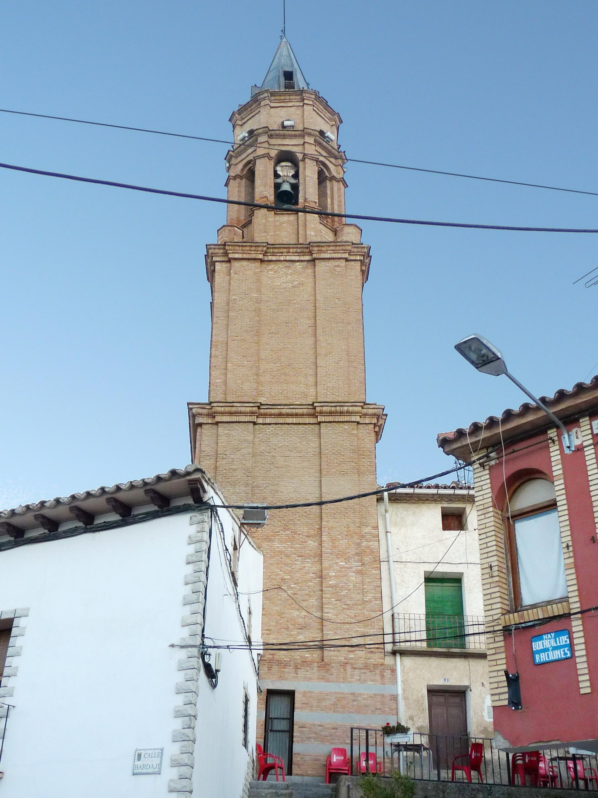 Torre de la Iglesia. Guía de viaje de El Frasno. Tu Maleta.