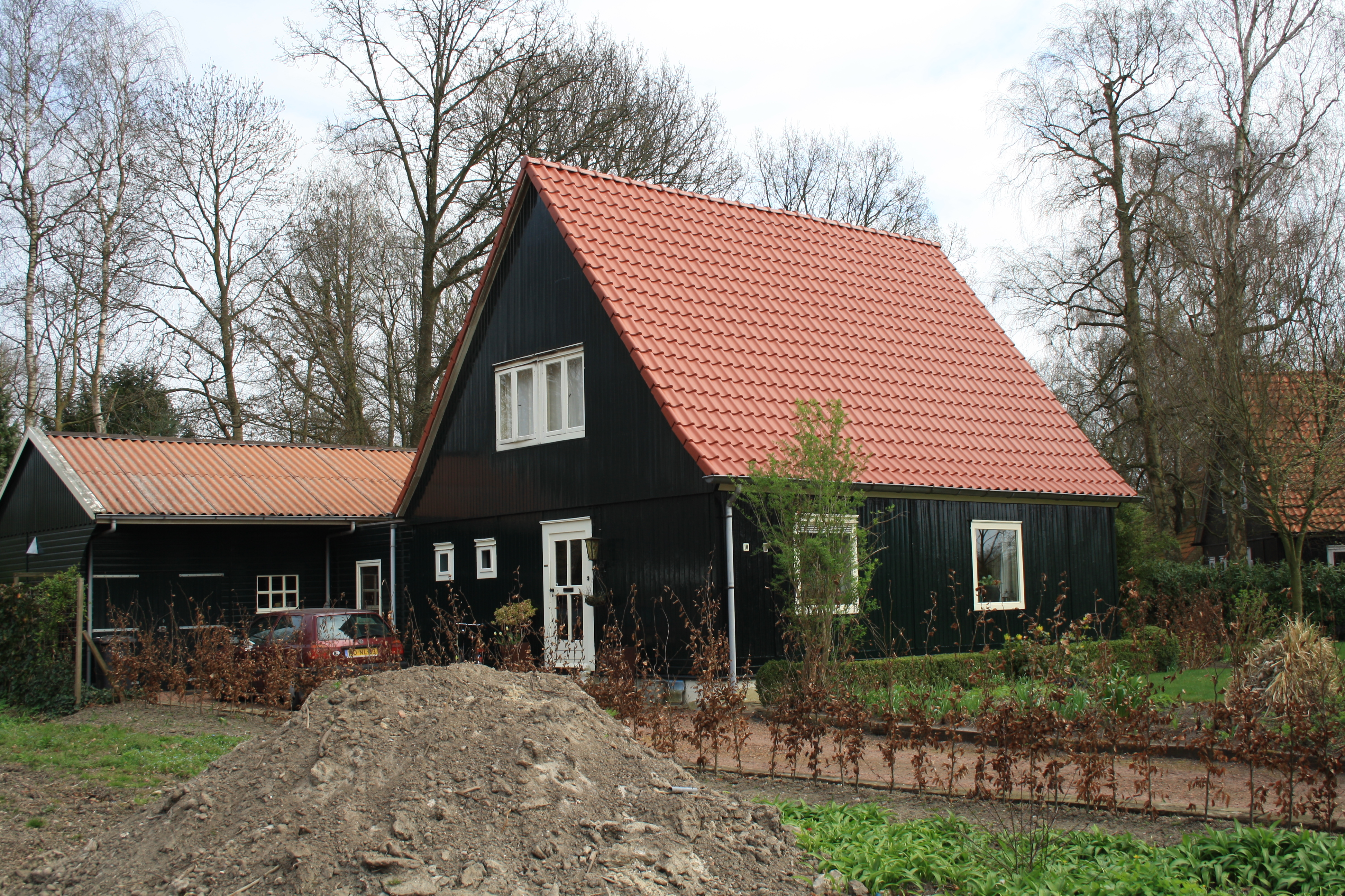 Houten woonhuis van het type ow in emmeloord monument - Houten huis ...