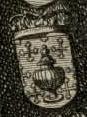 Escudo da Galiza em Retratos de los ochenta y quatro Reyes de España (c. 1700).jpg