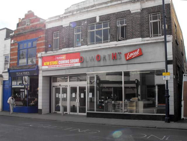 File:Ex-Woolworths, Whitstable High Street - geograph.org ...