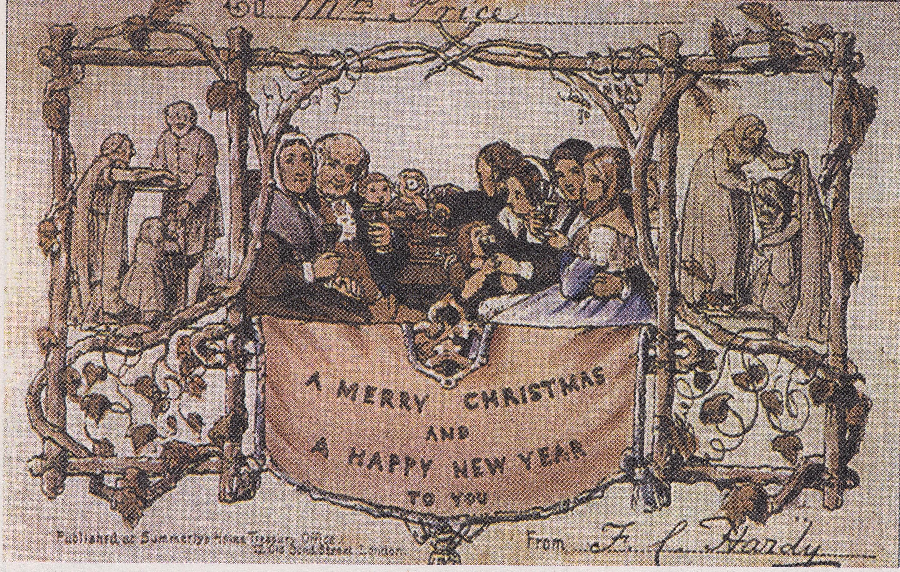Weihnachtskarten Anmelden