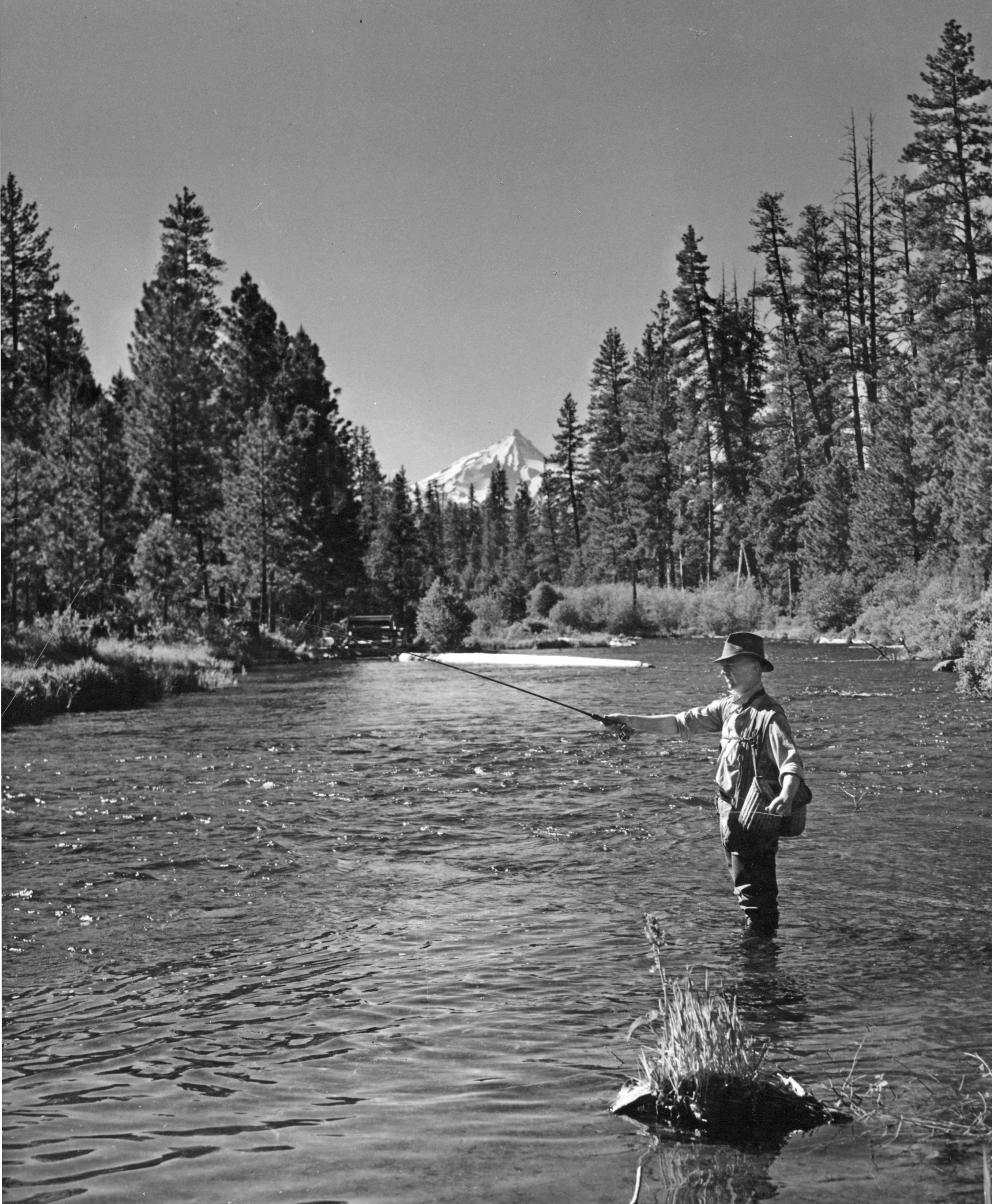 File fly fishing on the metolius river oregon 3386413872 for History of fly fishing