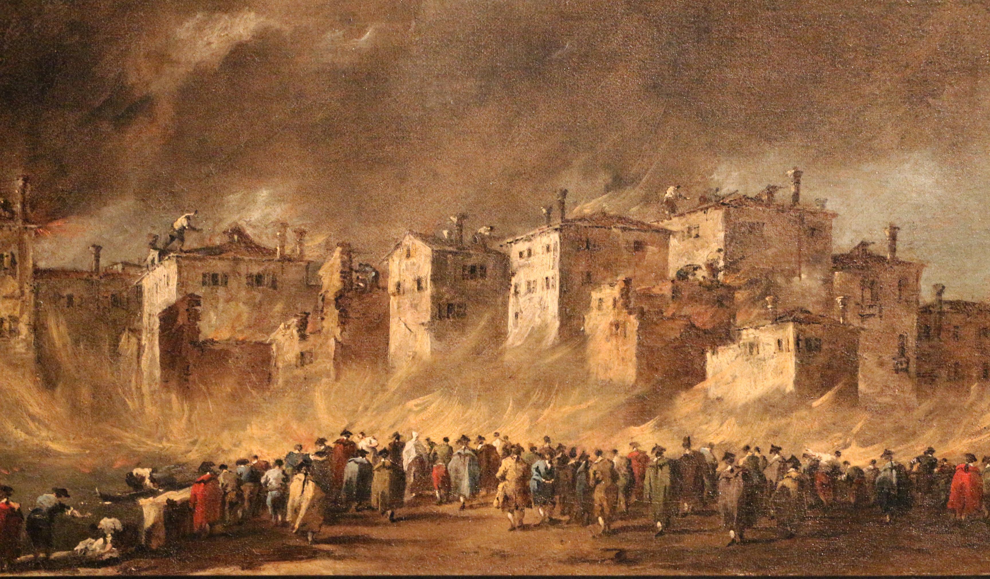 File:Francesco guardi, incendio dei depositi degli oli a san marcuola, 1789,