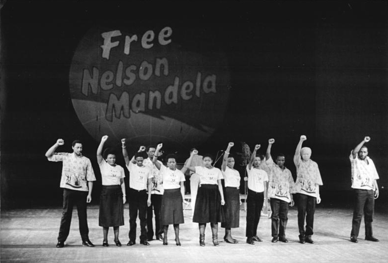 Filefree Nelson Mandela Protest Germany Cropjpg