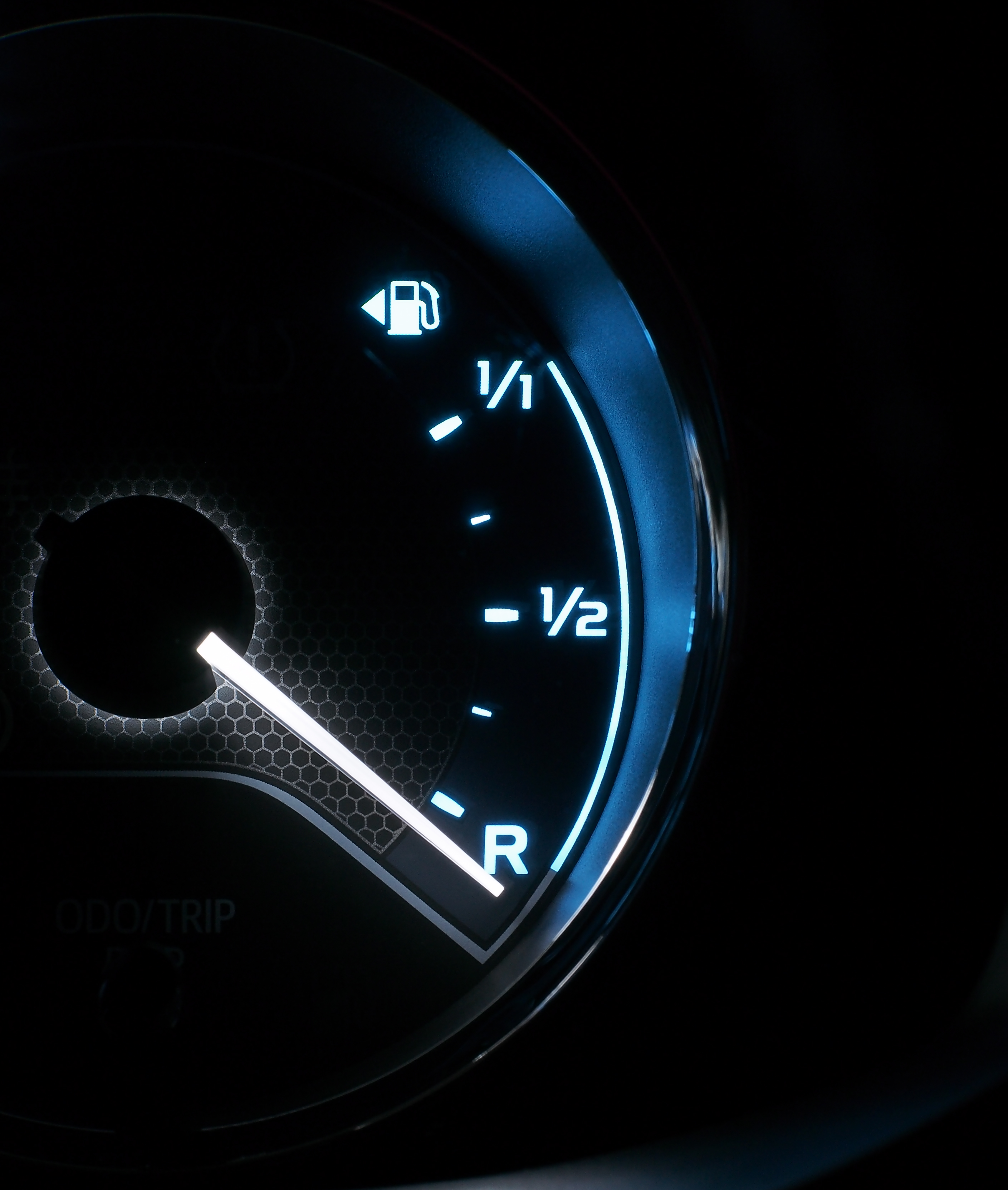 We shouldn't think of ourselves like this fuel gauge - running out of breath is normal.