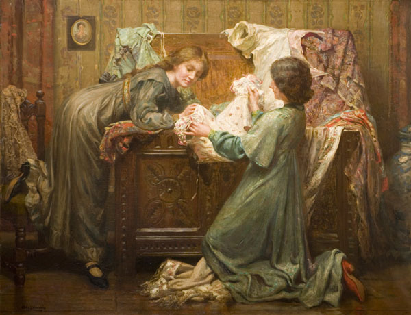 George Phoenix. The Grandmother's Wardrobe