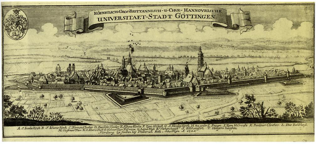 Goettingen - Ansicht von Suedosten (1735).png