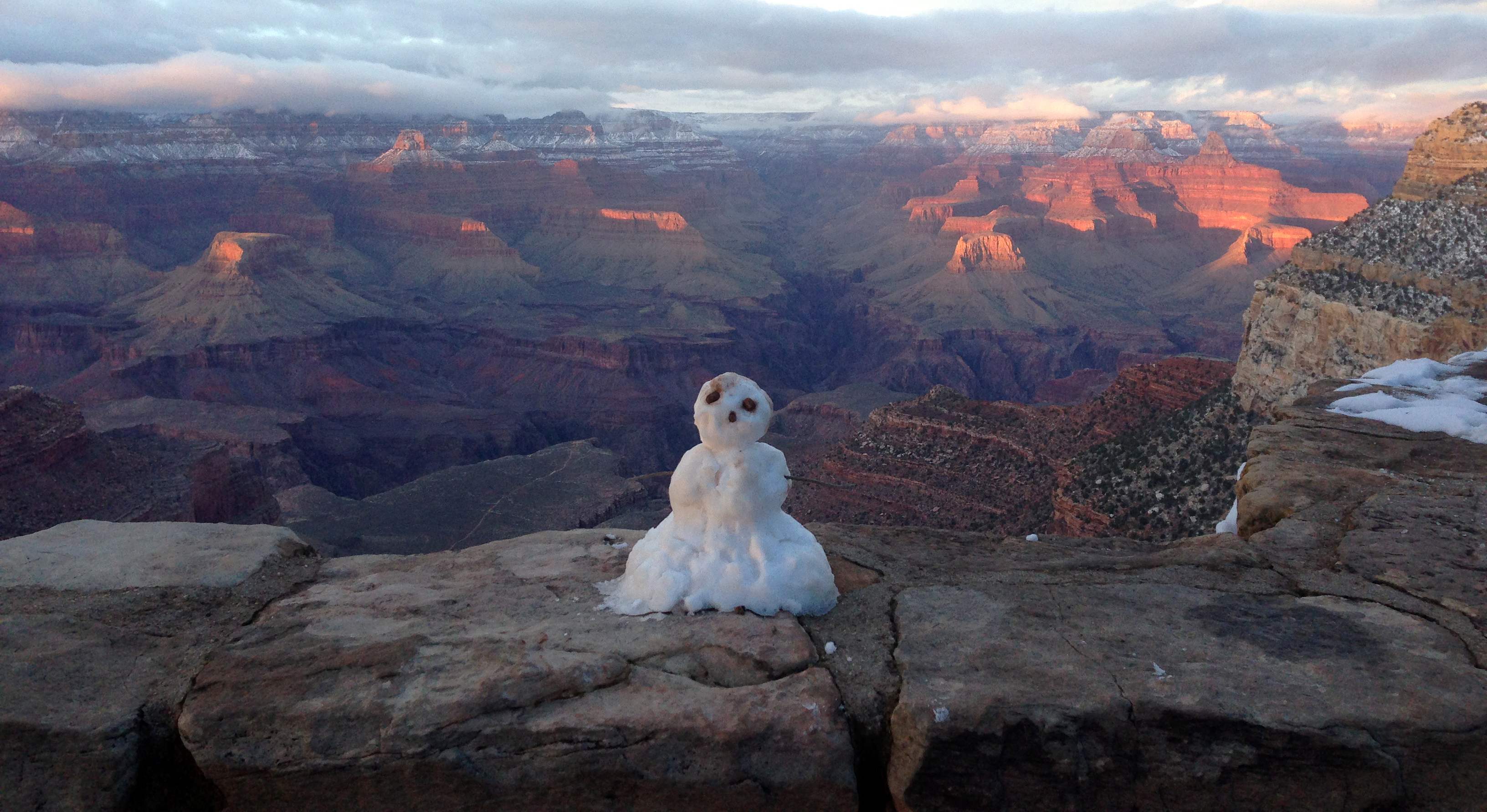 File Grand Canyon National Park Last Snowman Of Winter