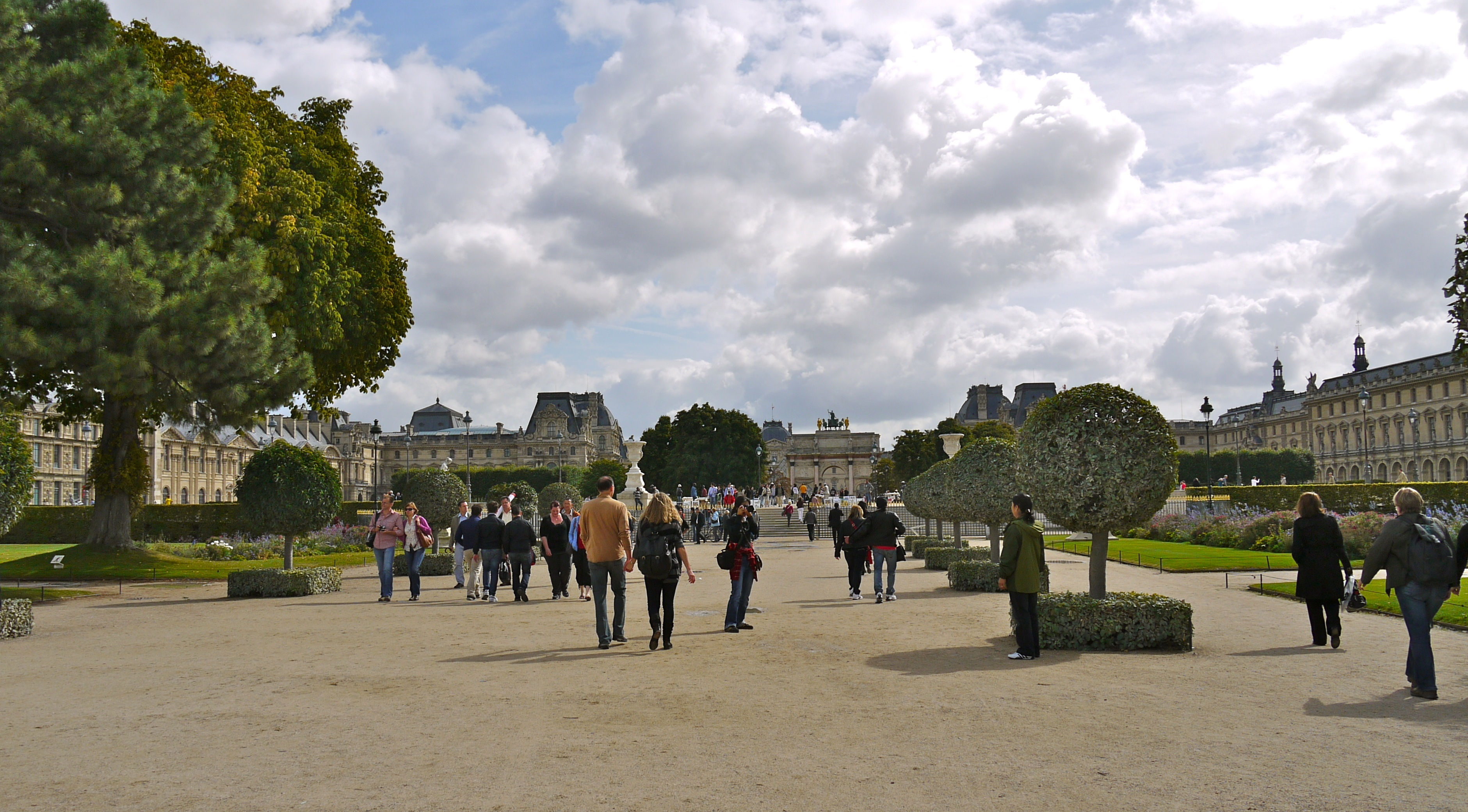 File grande all e du jardin des tuileries 2 paris 15 september wikimedia commons - Plan detaille du jardin des tuileries ...