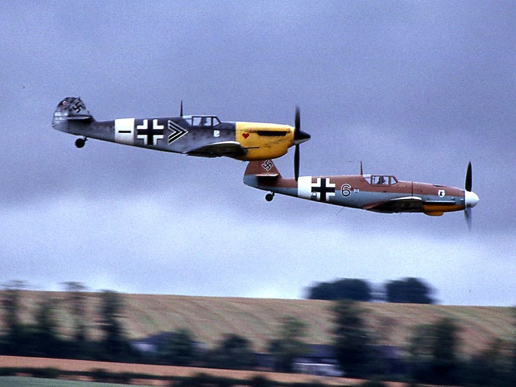 HA 1112-M1L and Bf 109G-2