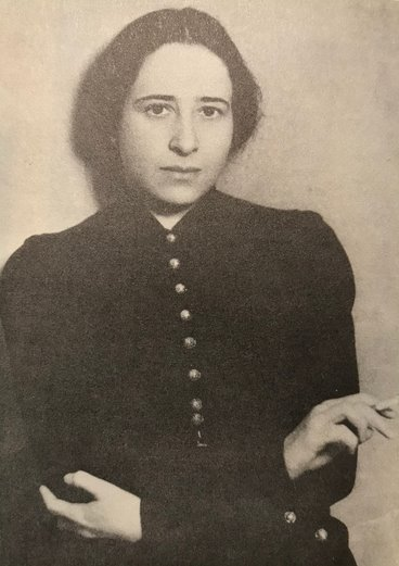 Hannah Arendt in 1933.
