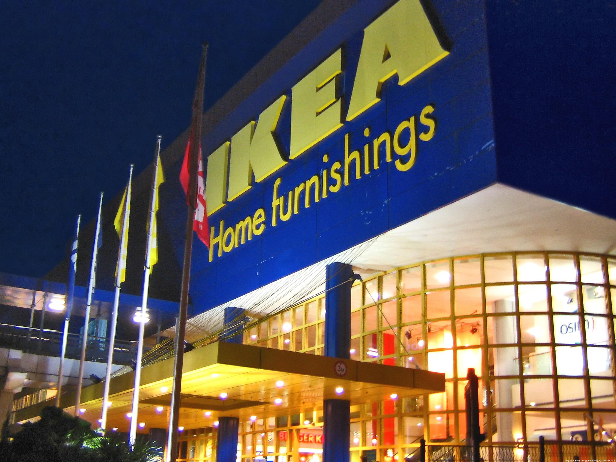 Одновременные взрывы произошли в магазинах IKEA трех стран Европы.