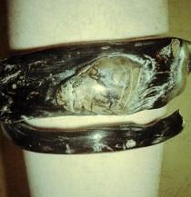 Image of black coral bracelet