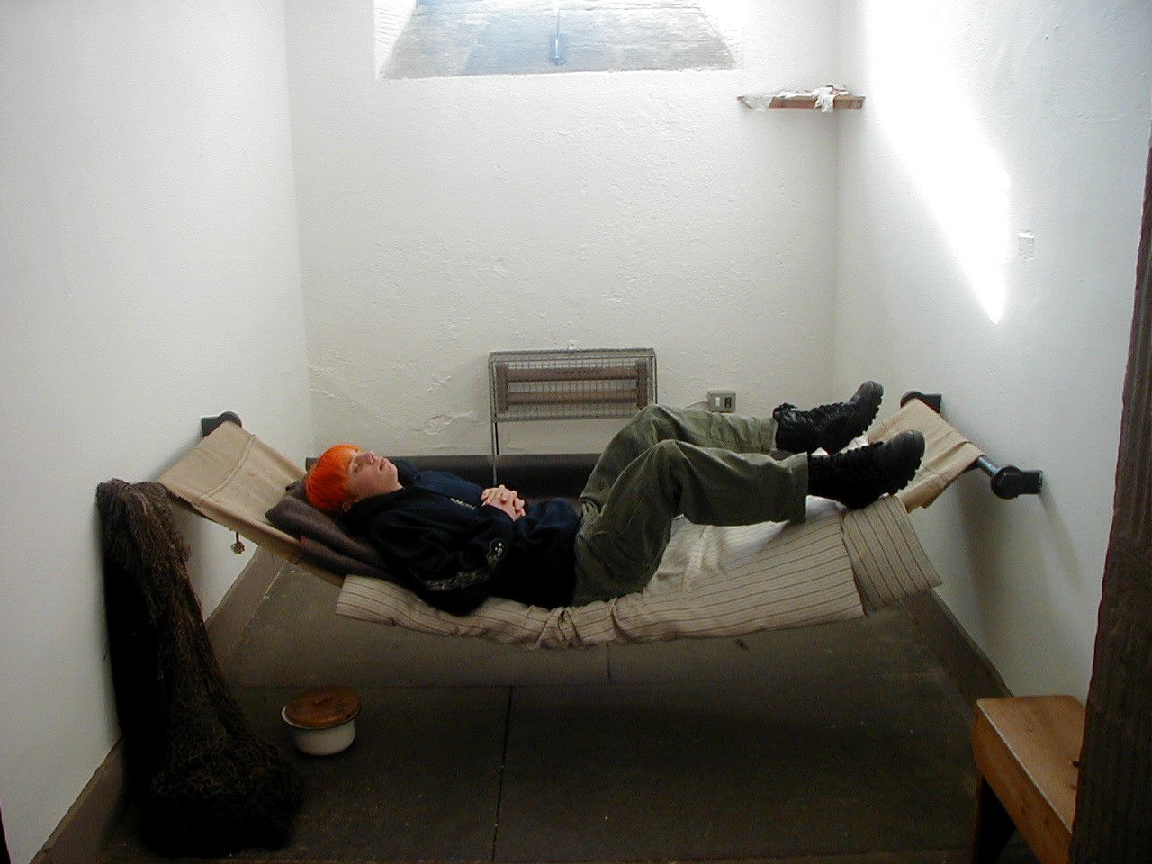 Inverary United Kingdom  city pictures gallery : Interior of Inverary Jail cell Polmont, United Kingdom