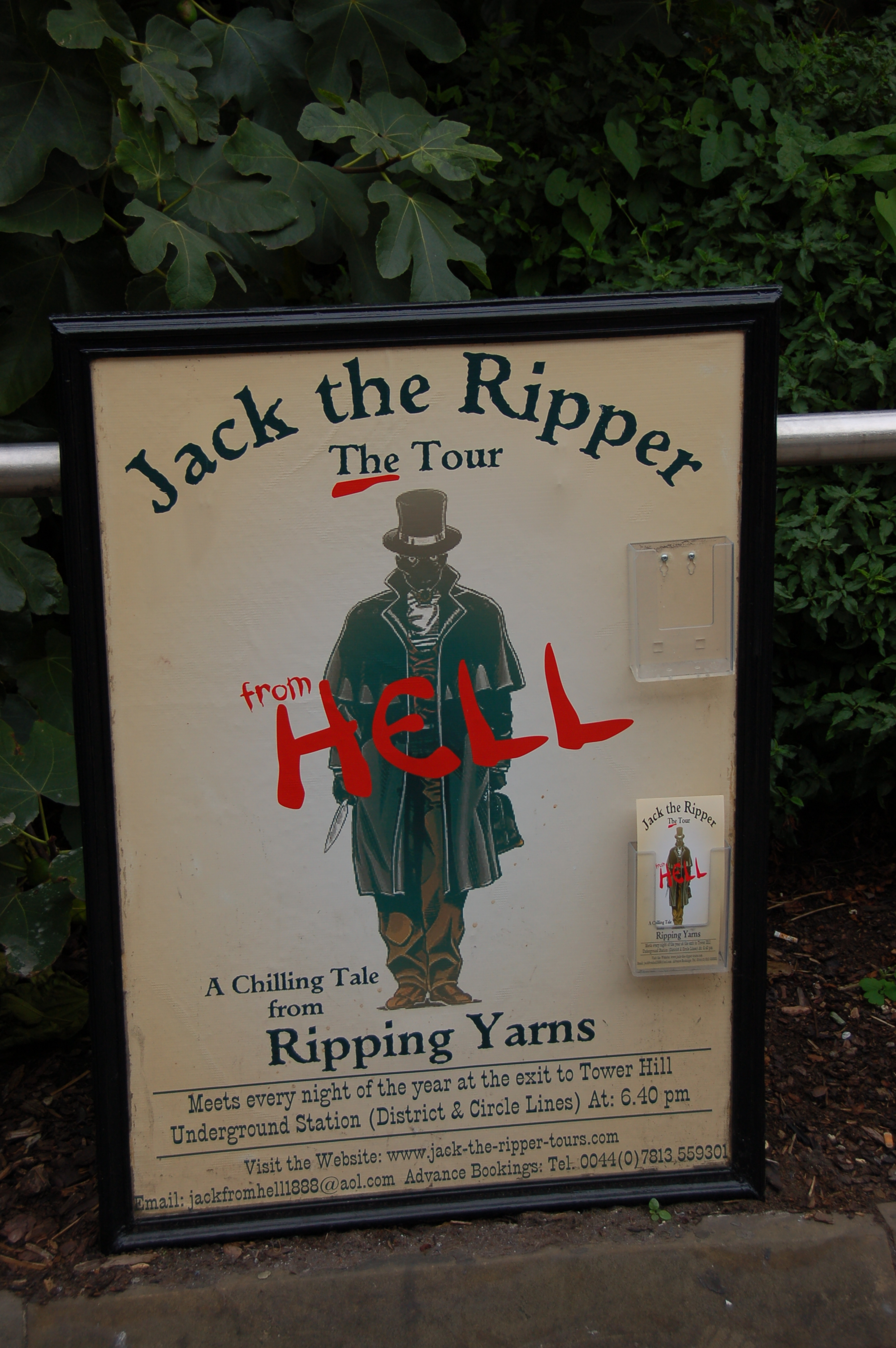 jack the ripper tour london