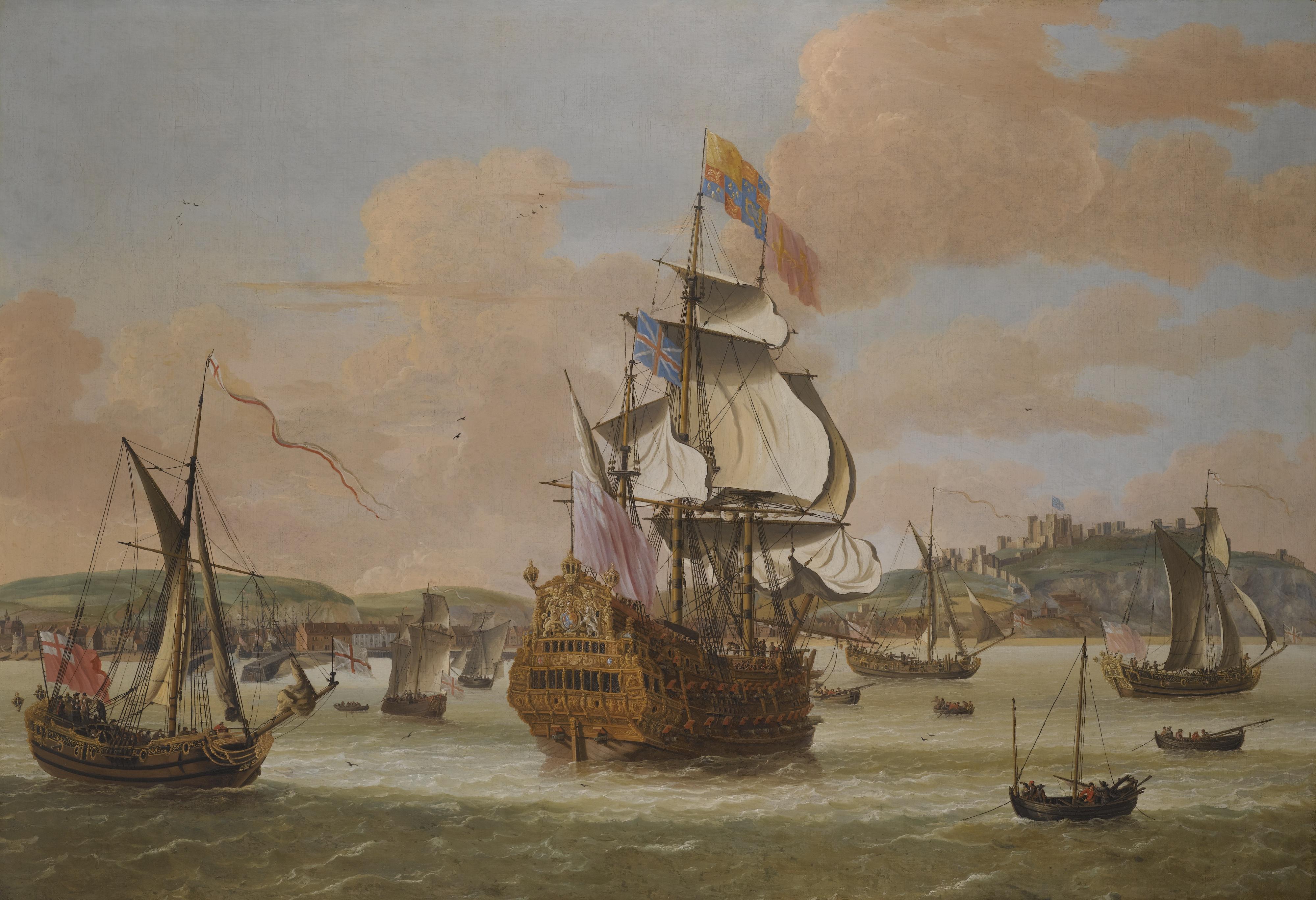 HMS Triumph near Dover