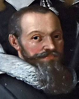 Detail from oil painting in [[Church of Holmen]]