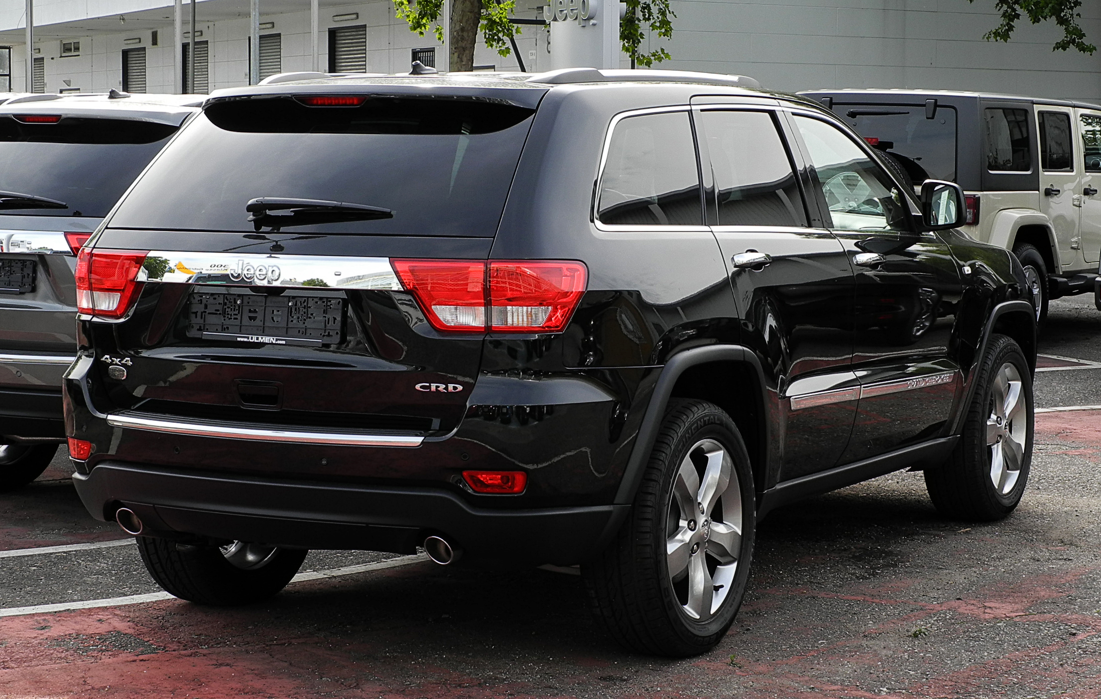 jeep grand cherokee 3 0 crd overland wk heckansicht. Cars Review. Best American Auto & Cars Review