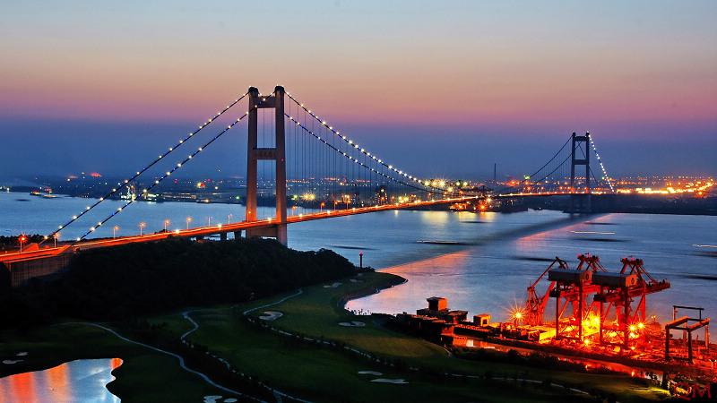 Jiangyin Yangtze River Bridge Wikipedia