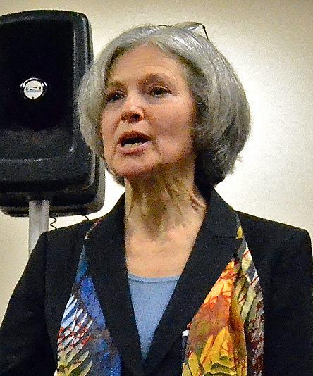 Jill Stein speaking