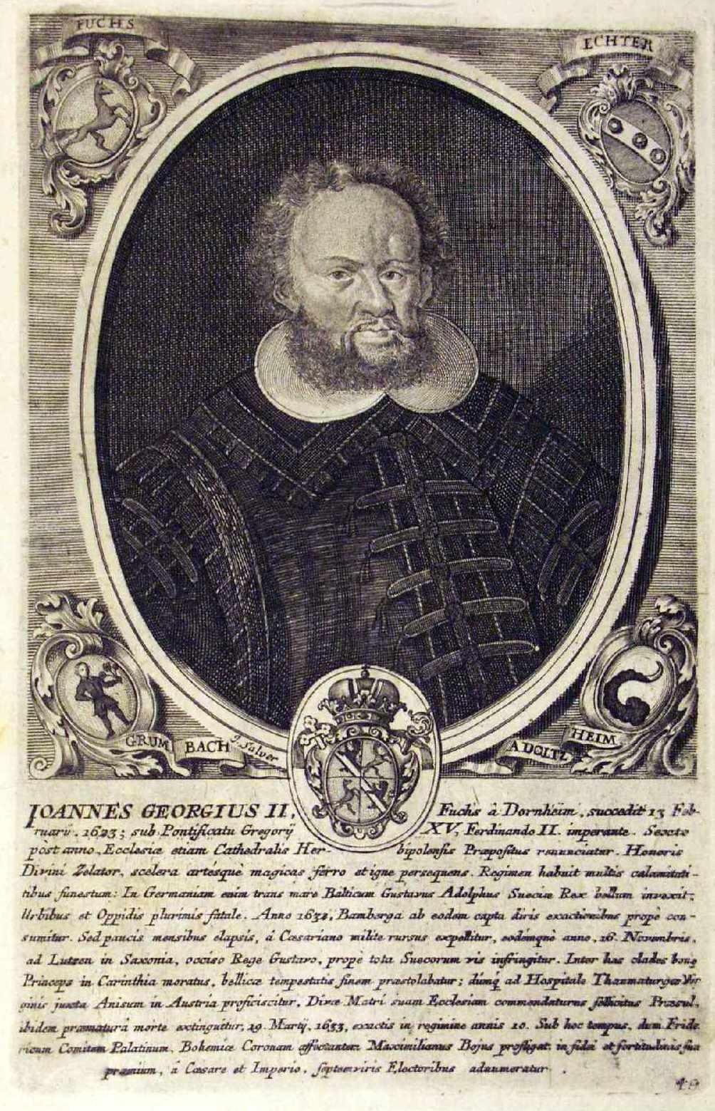Johann Georg II. Fuchs von Dornheim – Wikipedia