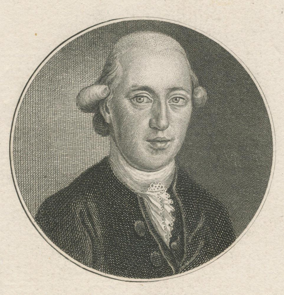 Johann Martin Miller, copperplate