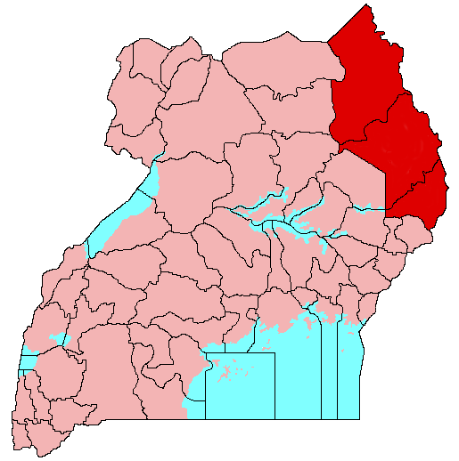 Karamoja in Uganda