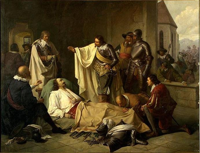 Karel Javůrek - Bernard Sasko-Výmarský a Jindřich Rohan 1638