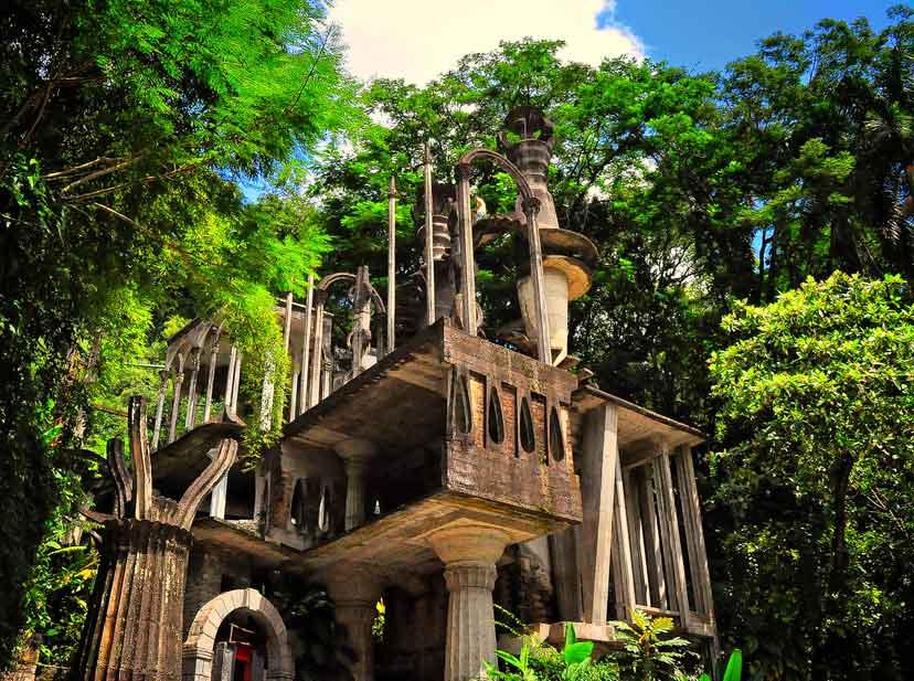 Resultado de imagen para castillo surrealista en xilitla