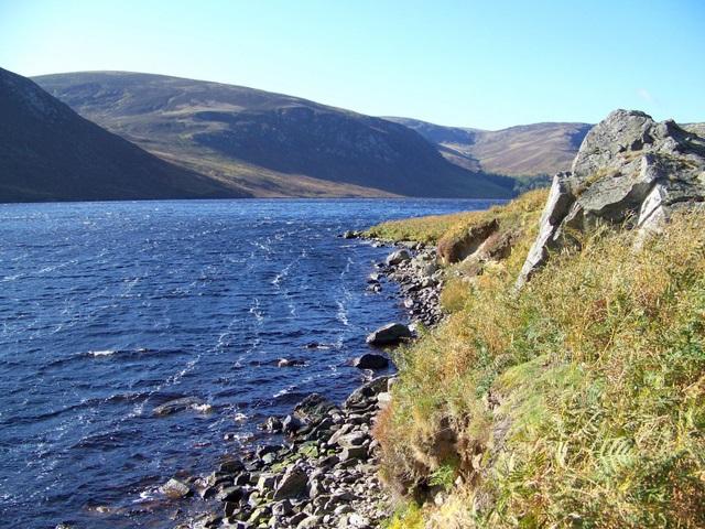 Loch Lee, Glen Lee - geograph.org.uk - 1541208