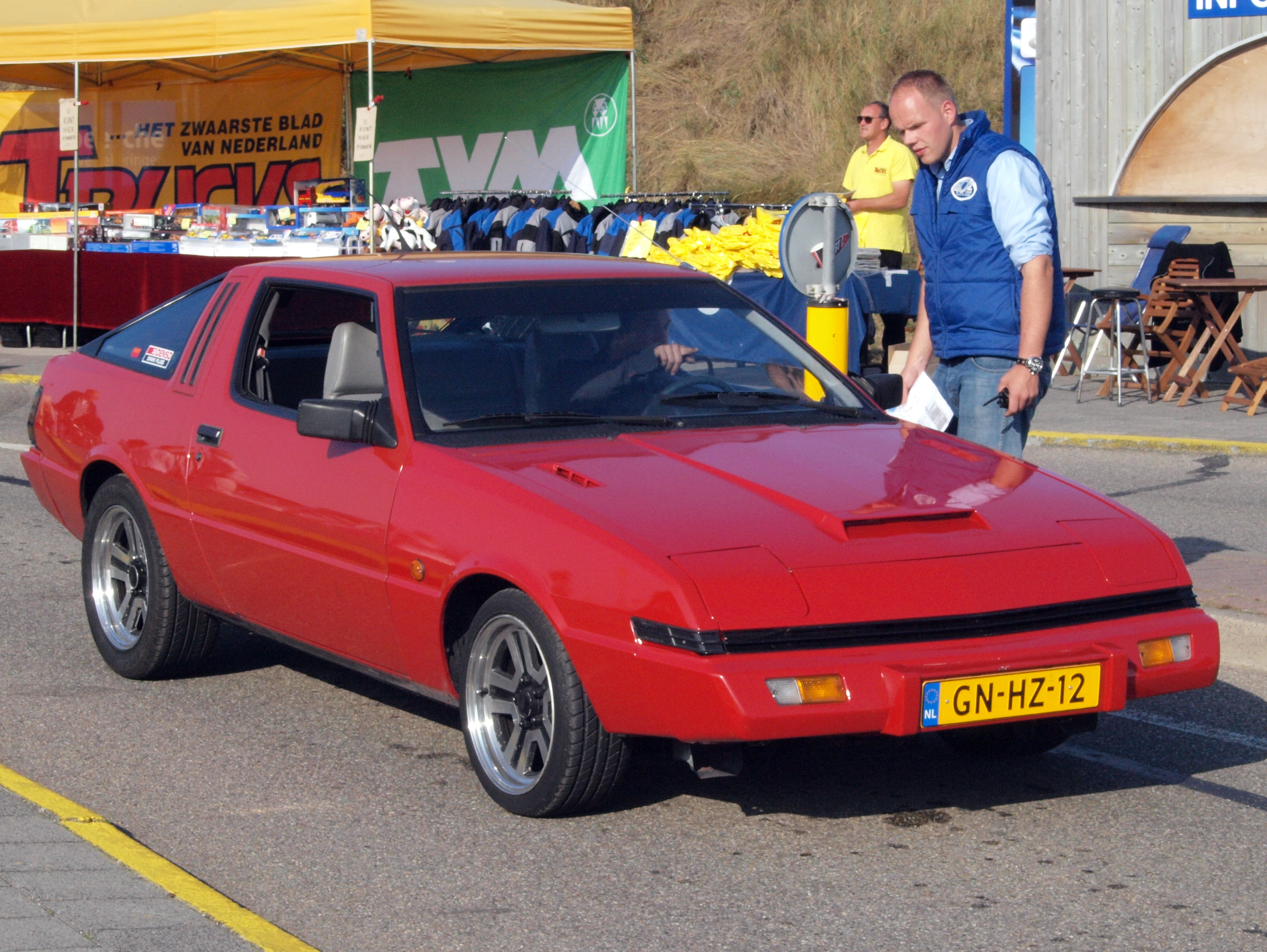 MITSUBISHI_STARION_Turbo_dutch_licence_r