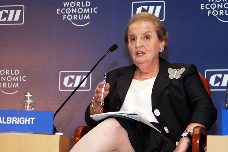 File:Madeleine Albright at WEF.jpg - Wikimedia Commons