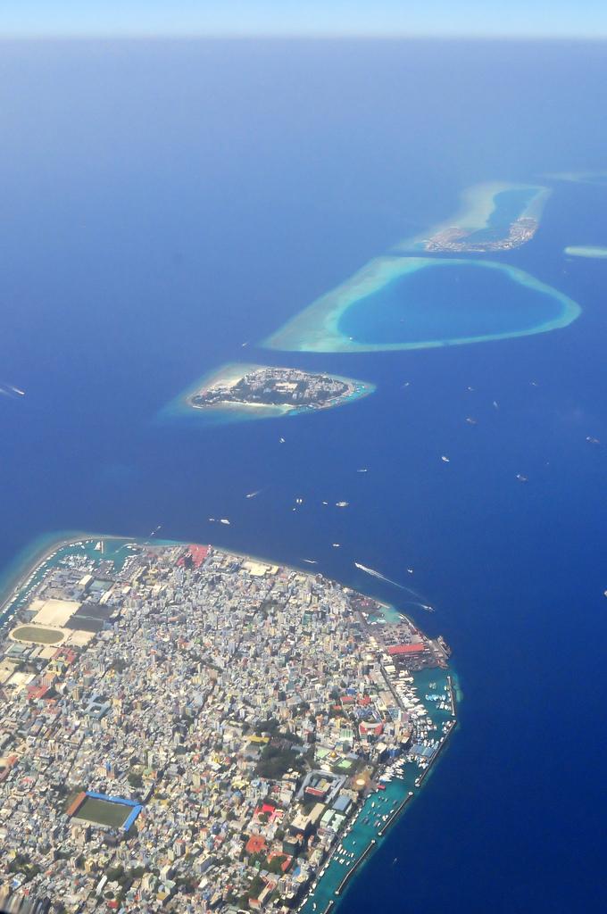 Maldives Male' The Capital