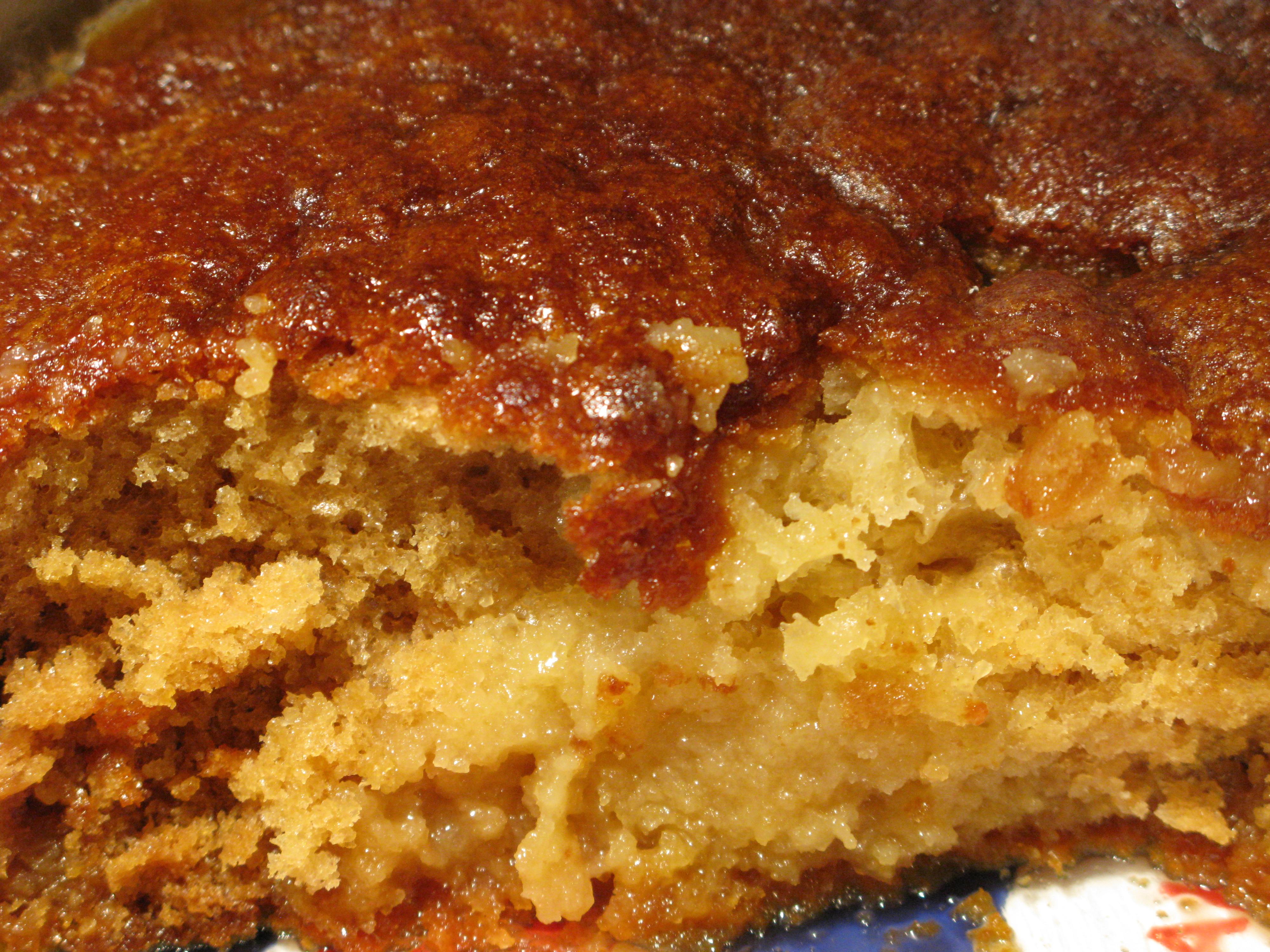 Hot Pudding Cake Recipe