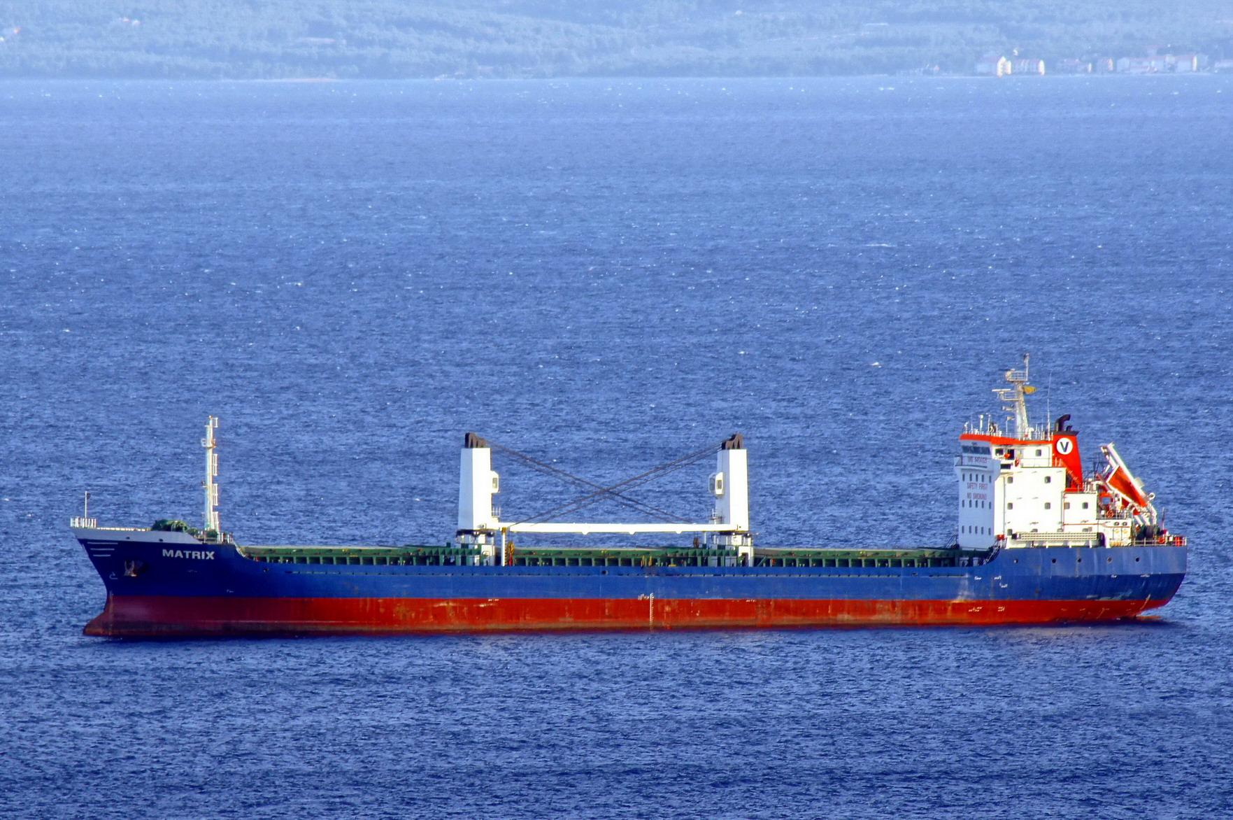 File:Matrix (ship, 2007) IMO 9454125; in Split, 2011-10-13 ...