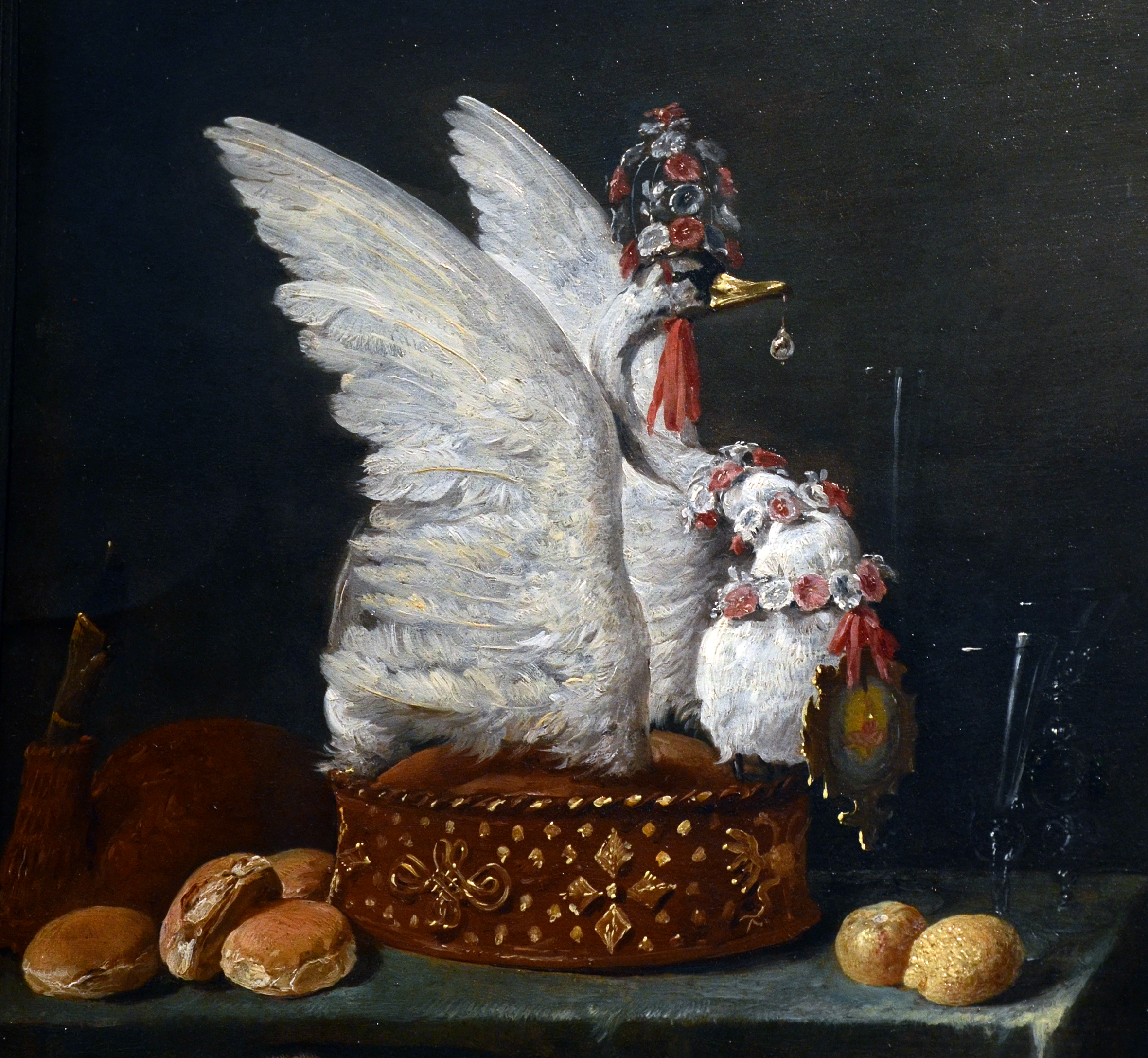 File:Mauritshuis David Teniers II Kitchen Interior Swan 14022016 1 ...